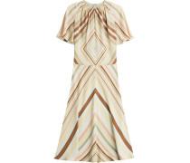 Maxi-Dress aus Seide mit Print