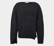 Pullover im Used-Look