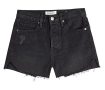 Denim-Shorts Le Original im Used Look
