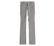 Straight-Leg-Jeans mit Streifen