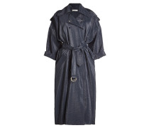 Oversized Trenchcoat mit glänzendem Finish