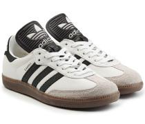 Sneakers Samba aus Leder und Veloursleder