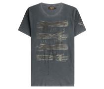 Print-Shirt Tattoo aus Baumwolle