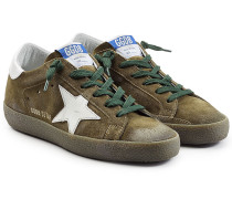 Sneakers Super Star aus Veloursleder