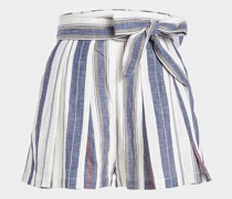 High Waist Shorts Kilman aus Baumwolle