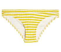 Gestreiftes Bikini-Höschen The Madison