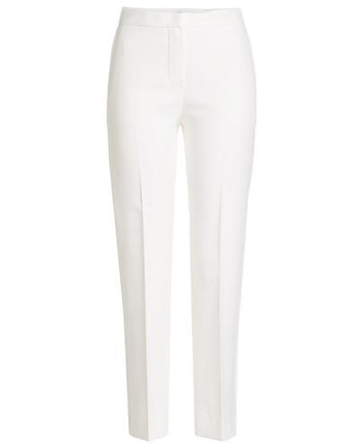 Straight Leg Pants aus Baumwolle