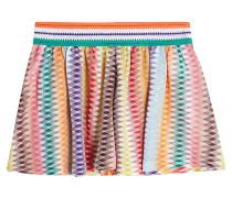Shorts mit Zickzack-Muster