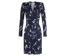 Wrap-Dress mit Print