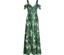 Off-Shoulder-Kleid mit floralem Print
