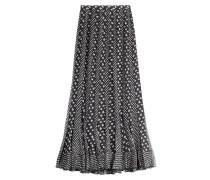 Maxi-Skirt aus Seide mit Print