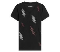 Besticktes T-Shirt