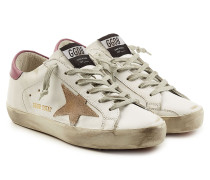 Leder-Sneakers Super Star