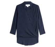 Drapierte Bluse aus Jersey
