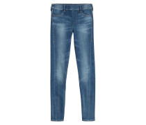 Jeans-Leggings aus Baumwolle