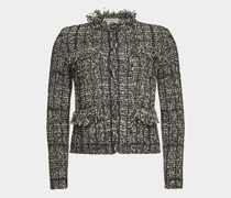 Blazer-Jacke aus Tweed
