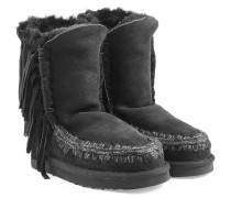 Boots Eskimo Short aus Schafleder mit Fransen
