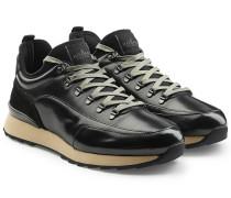 Sneakers aus beschichtetem Ziegenleder