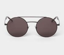 Runde Unisex Sonnenbrille