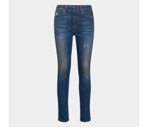 Jeans mit Ausfransungen