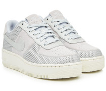 Sneakers Air Force Upstep aus Veloursleder und Leder