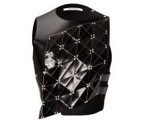 Top aus Laser-Cut-Leder