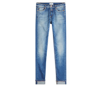 Cropped Straight Leg Jeans Lizzy