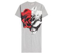 Baumwoll-Shirt mit Rosen-Print