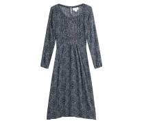 Gemustertes Kleid mit Stickereien