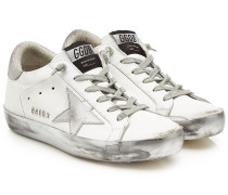 Sneakers Super Star aus Leder