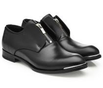 Loafers aus Leder mit Zipper