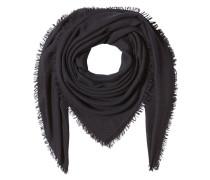 Schal aus Schurwolle, Kaschmir und Seide