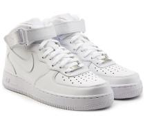 Sneakers Airforce 1 Mid 07 aus Leder
