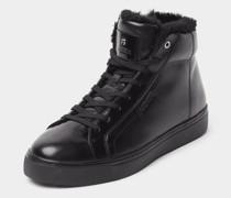 Boots mit Label-Details