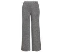 Wide Leg Pants aus Lamé mit Glitter Finish
