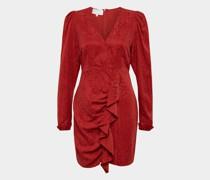 Kleid mit Rüschen und Volant