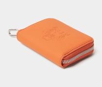 Portemonnaie mit Label-Prägung