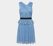 Kleid mit Spitzen-Layer
