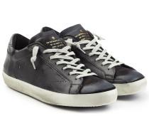 Sneakers Super Star aus Leder