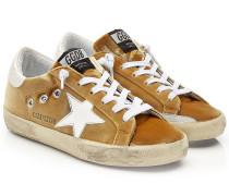 Sneakers Super Star aus Samt