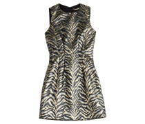 Cocktaildress mit Zebra-Print