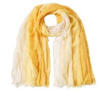 Colourblock Schal aus Seidenmix