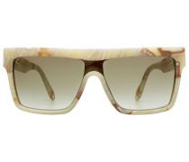 Sonnenbrille Flat Top Visor