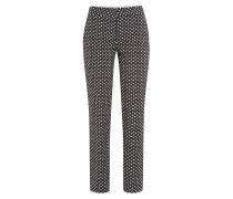 7/8-Pants mit Polka-Dot-Print
