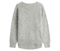 Oversize-Pullover mit Wolle und Kid Mohair