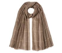 Karierter Schal aus Kaschmir
