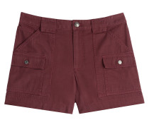 Twill-Shorts aus Baumwolle