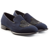 Bestickte Loafers