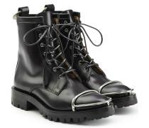 Schnür-Boots \' aus Leder