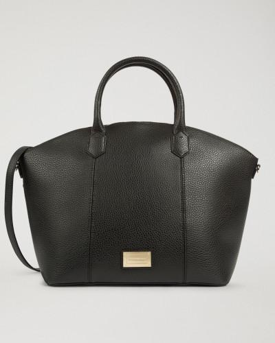 Handtasche aus Gehämmertem Kunstleder